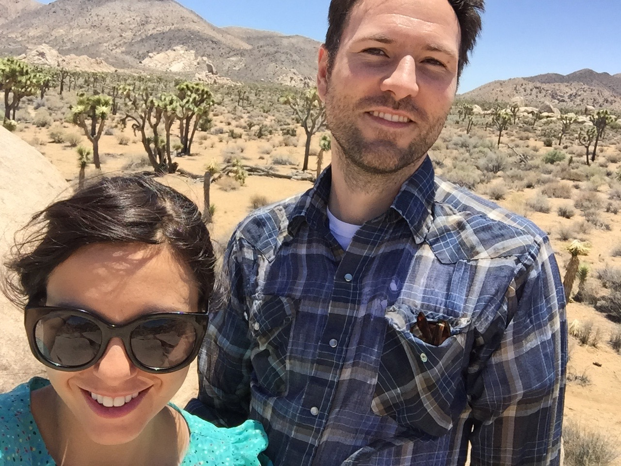 Joshua Marie Wilkinson with LRW in Joshua Tree National Park 2015