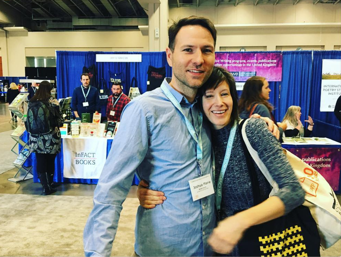 Joshua Marie Wilkinson and Cathy Wagner, Washington D.C., 2017