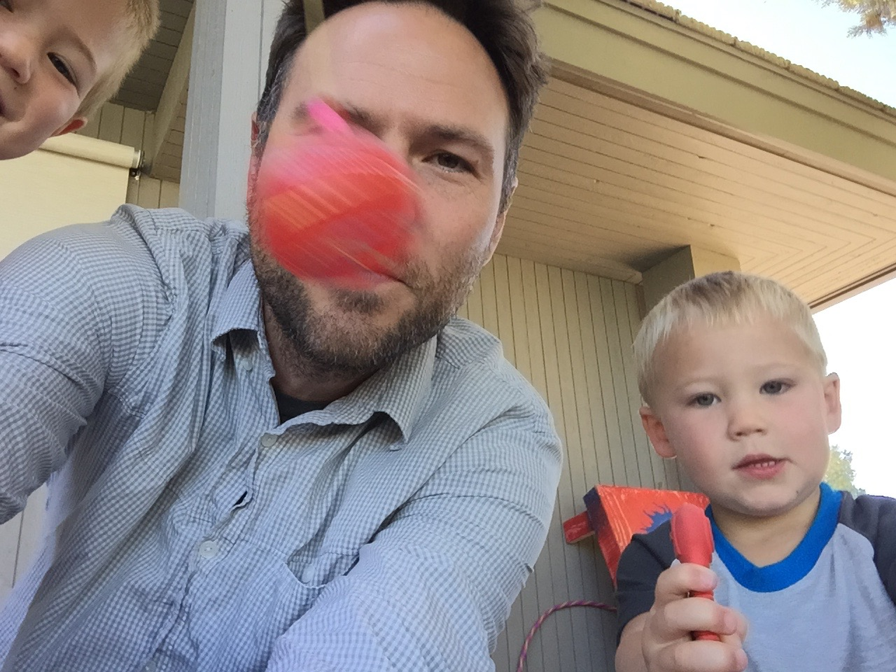 JMW with Nephew in Bend, OR 2015