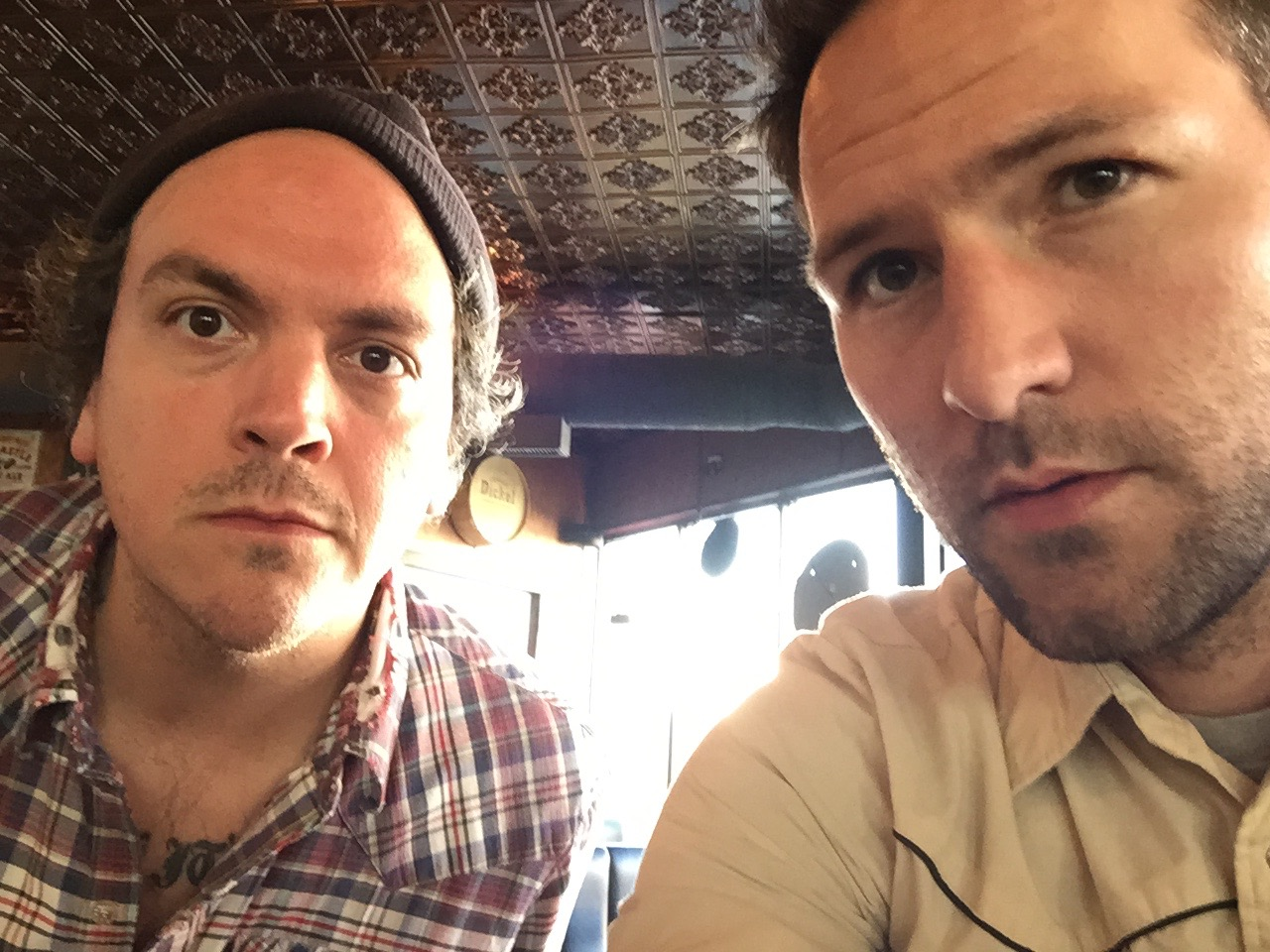 Joshua Marie Wilkinson with Mathias Svalina in Omaha, NE 2015